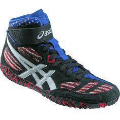 Seeing stars? Don't worry, you should! Faded Glory Wrestling shoes are a Limited Edition from ASICS.