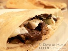How To Make Gyros From Scratch   using real meat and not that loaf meat-like stuff.