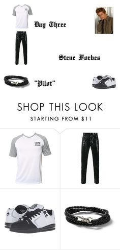 """""""Steve Forbes Worlds Colliding (The Vampire Diaires) 1.01 """"Pilot"""" by jdefloria on Polyvore featuring Billabong, Yves Saint Laurent, Osiris, Topman, men's fashion and menswear"""