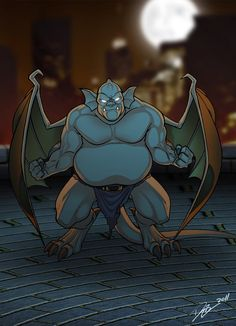 I tough it would be cool to show them individually elements from this piece: A We are GARGOYLES, Goliath Animation Series, Disney Animation, Disney Pixar, Gargoyles Cartoon, Disney Gargoyles, Gargoyles Characters, Comic Manga, Comic Art, Statues