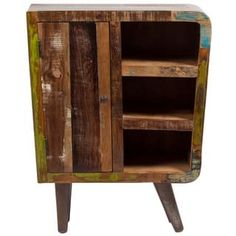 FOR A COFFEE BAR! Shop for Handmade Wanderloot Route 66 Reclaimed Wood Three-shelf Sideboard (India). Get free shipping at Overstock.com - Your Online Furniture Outlet Store! Get 5% in rewards with Club O! - 17906226