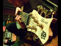 7 STRING BASS SOLO. - YouTube
