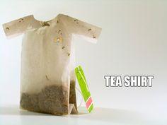 Για τις ζέστες του καλοκαιριού και το κρύο του χειμώνα ταυτόχρονα!  Tea Shirt!