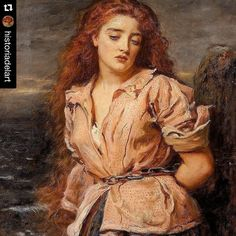 #Repost @historiadelart   On this day in 1829 #JohnEverettMillais (1829-1896) was born in Southampton.  #HappyBirthday!  After training in the Sass's School in London #Millais enrolled at the Royal Academy. There he met the painters William Holman Hunt and Dante Gabriel Rossetti. The three students were disappointed with the teaching at the Royal Academy and in their efforts to promote a new type of art the three painters -together with others- founded the Pre-Raphaelite Brotherhood in 1848…