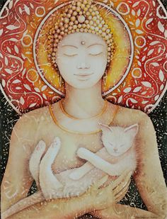 Artist Meganne Forbes.  Another beautiful depiction of the divine feminine.