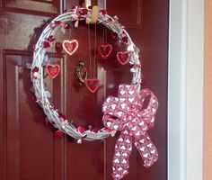 Valentine's Day Roses Cheap. The Sparkle Queen Easy And CHEAP Sparkly Wreath For Valentines Day