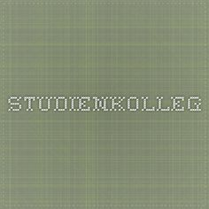 Studienkolleg no prior knowledge **