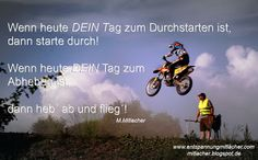 mitLacher- Blog von Marion: #Motivation1  Starte durch!
