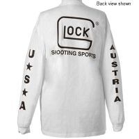Glock Shooting Sports T-Shirt - Long Sleeve White AP61404  — 5 options