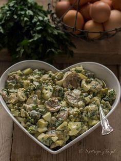 Czech Recipes, Holiday Recipes, Great Recipes, Ethnic Recipes, Healthy Salad Recipes, Polish Recipes, Potato Salad, Food To Make, Easy Meals