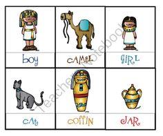 Preschool Printables: Egypt