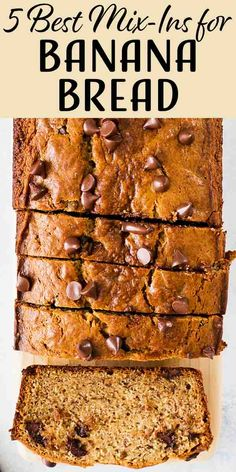 4 Best Mix-Ins for Banana Bread! Banana bread is a perennial favorite that you can eat any season, any time of the day. Here are four great mix-ins to take them to the next level. Banana Recipes, Bread Recipes, Whole Food Recipes, Cake Recipes, Dessert Recipes, Peanut Butter Pound Cake Recipe, Peanut Butter Banana, Fun Desserts, Delicious Desserts