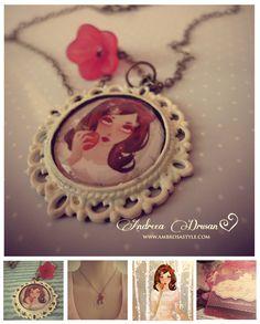 Snow White Handmade Necklace