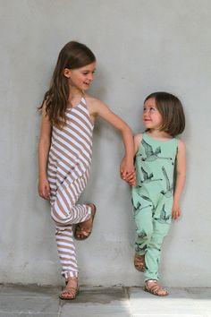 Hoppe jumpsuits in Nosh organic fabrics