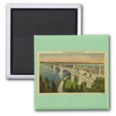 @@@Karri Best price          Bridge to Belle Isle Detroit, Michigan, Vintage Fridge Magnet           Bridge to Belle Isle Detroit, Michigan, Vintage Fridge Magnet This site is will advise you where to buyDeals          Bridge to Belle Isle Detroit, Michigan, Vintage Fridge Magnet today easy to Sh...Cleck Hot Deals >>> http://www.zazzle.com/bridge_to_belle_isle_detroit_michigan_vintage_magnet-147664959691298303?rf=238627982471231924&zbar=1&tc=terrest