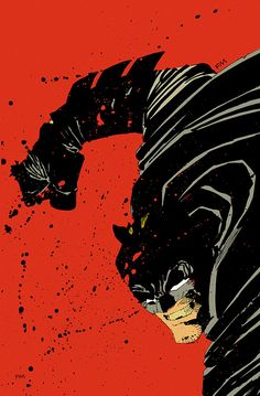 Comic Book Artist: Frank Miller. A writer-artist. His Dark Knight depictions of Batman were used for the recent Trilogy.