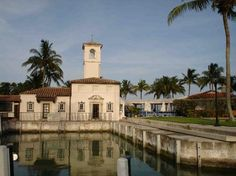 The historic Vanderbilt pump house which currently houses the #fisherisland beach club