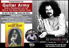 """""""Guitar Army. Rock & Revolución con los MC5 y The White Panther Party"""", todo un clásico de la contracultura de los año 70, editado por Munster Books."""