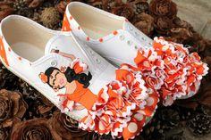 #spain #faralaes #ole #flamenco #shoes #sneakers #zapatos #zapatillas #LDKustomizer