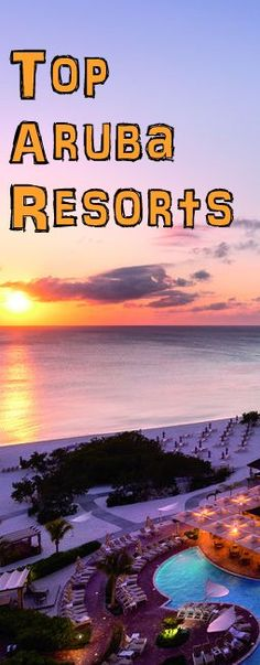 The Aruba Luxury Resort Top 5 List. A description of the best resorts on the island and what people are saying about them. Best Places To Vacation, Best Vacations, Vacation Destinations, Vacation Spots, Aruba All Inclusive, Aruba Resorts, Negril, Aruba Honeymoon, Honeymoon Spots