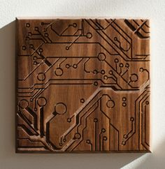 Dave Marcoulier Circuit 7x7 - Walnut
