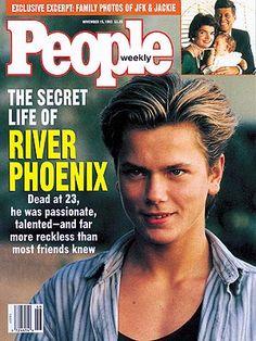 photo   Untimely Deaths, River Phoenix Cover, River Phoenix