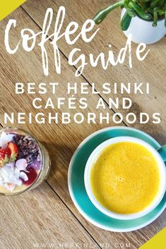 Here are the most adorable and iconic cafes in Helsinki by district! Fall in love with the Finnish coffee culture! #Helsinki #Finland