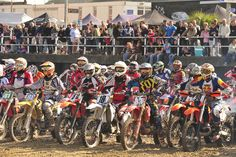 For those with a thirst for adrenaline, check out a Motocross event - bring your ear plugs!