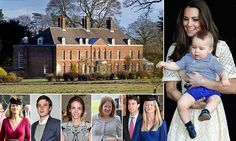 After £4.5m refit in Kensington Palace, William and Kate head Norfolk #DailyMail