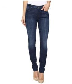 7 For All Mankind The Skinny in Bordeaux Broken Twill (Bordeaux Broken Twill) Women's Jeans