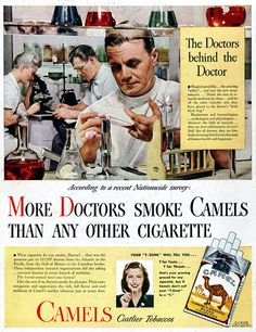 Tobacco Ad (tried to get the ones without the cigarettes, cause I hate smokers :D)...they even put Doctors on this Ads tsk tsk....:-(