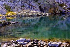 a lake of alps