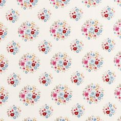 NEW TILDA 'Sweetheart ' Thula Red Pink Floral by TheFabricFrieze