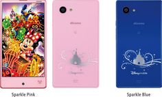 Sharp Introduces a New Disney Branded Cellphone in Japan