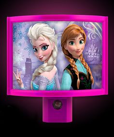 Another great find on #zulily! Frozen Wrap-Around Night-Light by Frozen #zulilyfinds