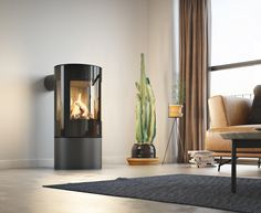 The natural gas versions of the Viva wood stove, the gas series brings the beautiful design and impeccable build with the convenience of gas