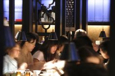 An iconic venue for smart lunchtime dim sum or an evening cocktail or two; it's the benchmark against which all other high-end Chinese restaurants are judged. Our full review: http://www.timeout.com/london/restaurants/hakkasan