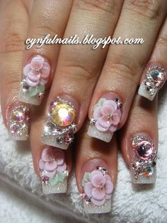 Acrylic Nail Designs | easily available unique design strongest cheapest longest durable easy ...