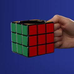 If you're too much into the Rubik's Cube craze, get yourself this enchanting Rubik's Cube Mug this holiday.