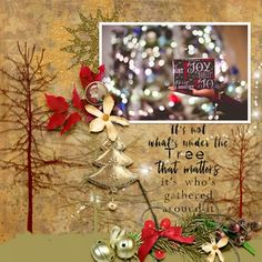 They know that Santa's on his way He's loaded lots of toys and goodies on his sleigh And every mother's child is gonna spy To s. Mother And Child, Digital Scrapbooking, Poetry, Layout, Lights, Christmas Ornaments, Holiday Decor, Collection, Home Decor