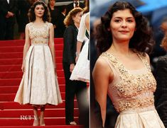 Audrey Tautou - 'Therese Desqueyroux' Cannes Film Festival Premiere & Closing Ceremony  (If I got married again, it would be in this dress. )