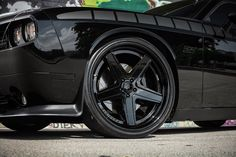 Exclusive Motoring Dodge Challenger SRT8 on Forgiato wheels