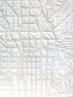 Haptic Lab - Chicago City Map Quilt | VAULT - So awesome!  I want this.
