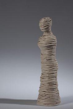 Ferri Farahmandi Ceramics - Gallery 3 Coiled sculptures   ferriceramics.com