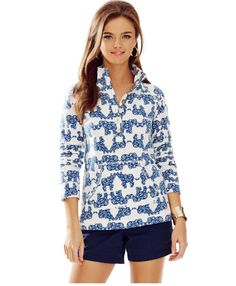 I love this Lilly Pulitzer elephant popover