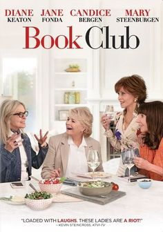 Four friends' (Diane Keaton, Jane Fonda, Candice Bergen and Mary Steenburgen) lives are turned upside down to hilarious ends when their book club tackles the infamous Fifty Shades of Grey. Also starring Andy Garcia, Don Johnson and Craig T. Funny Movies, New Movies, Movies And Tv Shows, Greatest Movies, Movies Box, Book Club Books, The Book, June Pictures, Katie Aselton