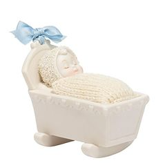 Snowbabies Department 56 Snowbabies Classics RockABye Baby Boy Figurine 325Inch * You can get more details by clicking on the image.