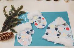 Winter craft and project idea for preschoolers Winter Craft, Project Ideas, Projects, Christmas Stockings, Art Ideas, Homeschool, Holiday Decor, Crafts, Home Decor