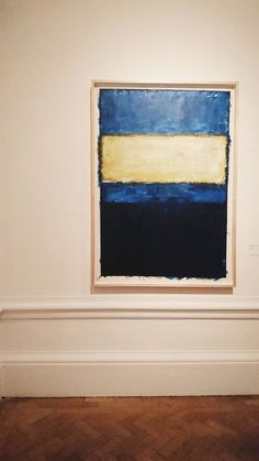 From London, a Rothko we don't often see, submitted by a nice follower you can check out here