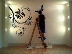 """""""Windy Tree Mural"""" by Barry Belcher - YouTube"""